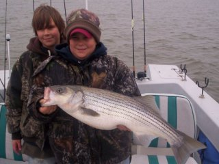 9 lb. Lake Texoma striper