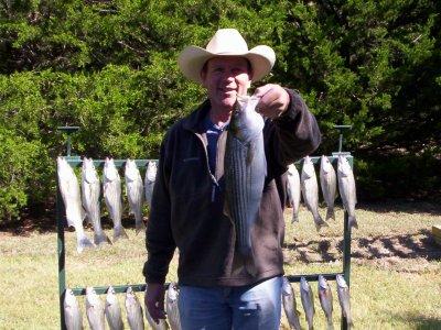 Lake Texoma striper fishing, highport marina