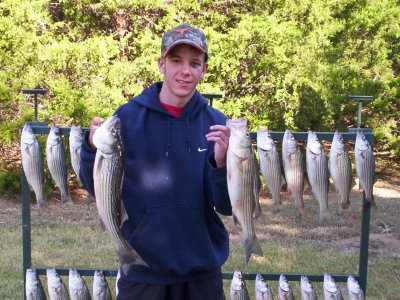 Lake Texoma Striper Fishing Guide