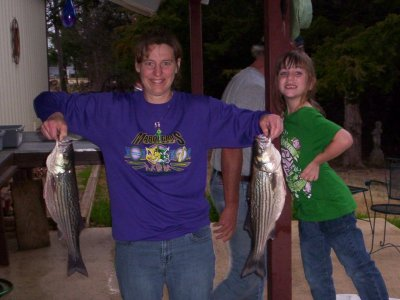 Lake Texoma striper caugt with StriperMaster Guide Service