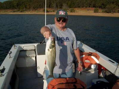 August 18 2011 fishing reports of lake texoma striper for Texoma fishing license