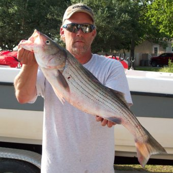 Doug Keeter Lake Texoma Striper Fishing Guide